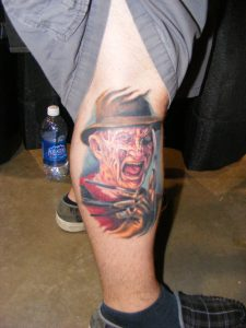 Robert Englund Tattoo Archive 375