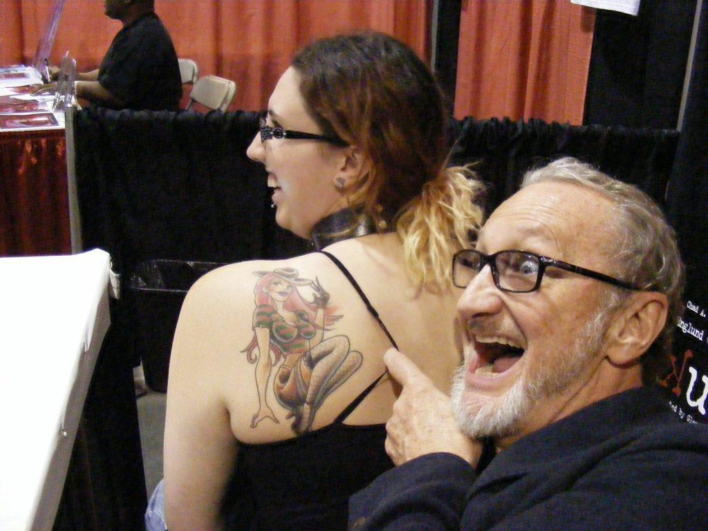 Robert Englund Tattoo Archive 381