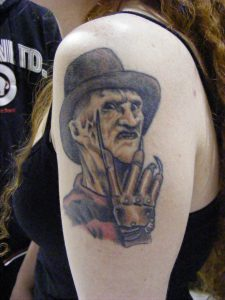 Robert Englund Tattoo Archive 385