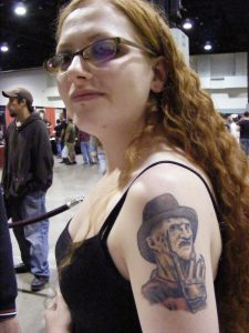 Robert Englund Tattoo Archive 386