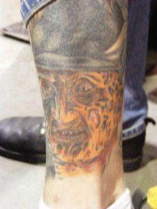 Robert Englund Tattoo Archive 387