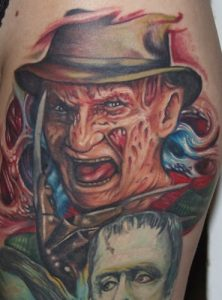 Robert Englund Tattoo Archive 188