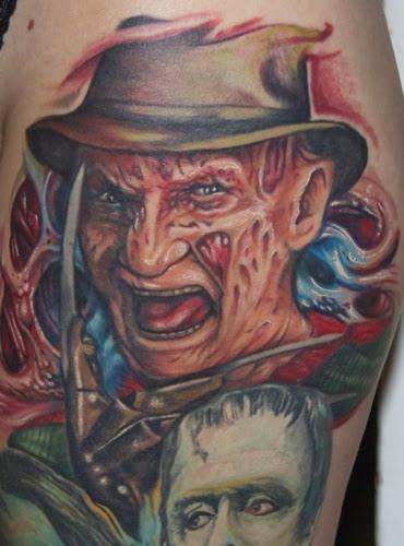 Robert Englund Tattoo Archive 188