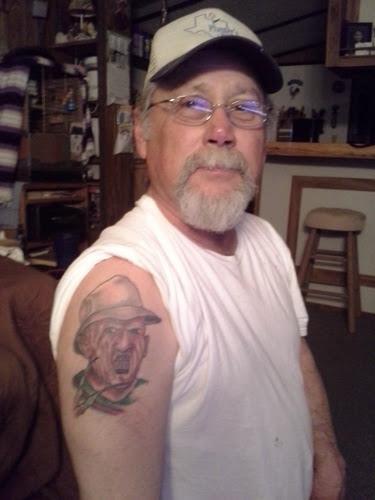 Robert Englund Tattoo Archive 189