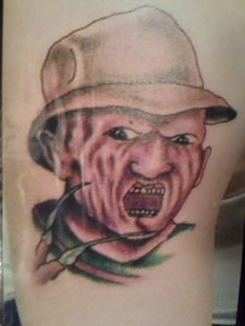 Robert Englund Tattoo Archive 190