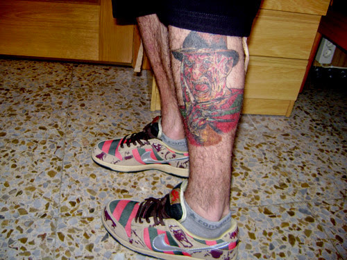 Robert Englund Tattoo Archive 193