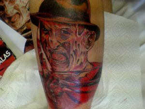Robert Englund Tattoo Archive 194