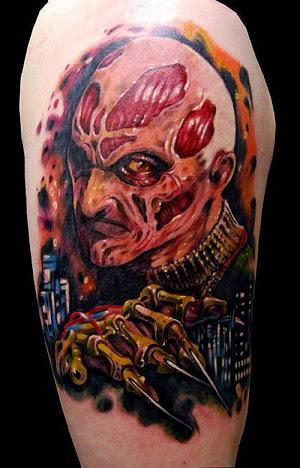 Robert Englund Tattoo Archive 395