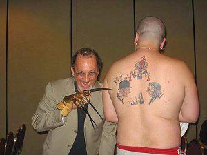 Robert Englund Tattoo Archive 397