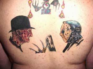 Robert Englund Tattoo Archive 398
