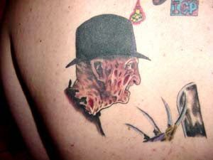 Robert Englund Tattoo Archive 399