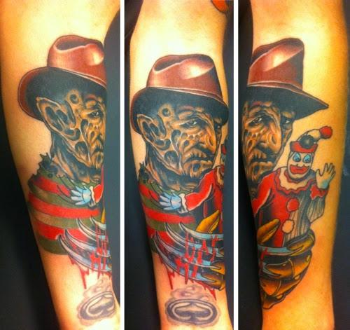 Robert Englund Tattoo Archive 400