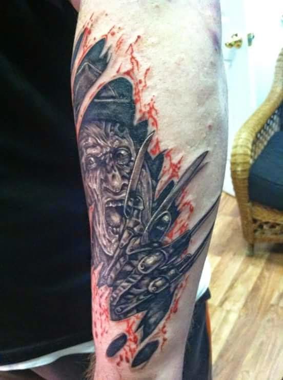 Robert Englund Tattoo Archive 402
