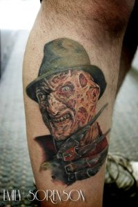 Robert Englund Tattoo Archive 403