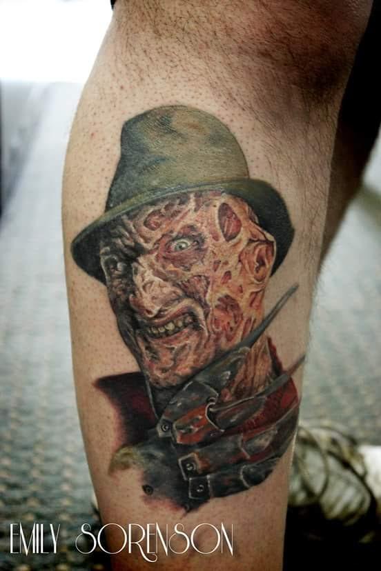 Robert Englund Tattoo Archive 403