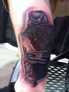 Robert Englund Tattoo Archive 404