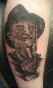 Robert Englund Tattoo Archive 405