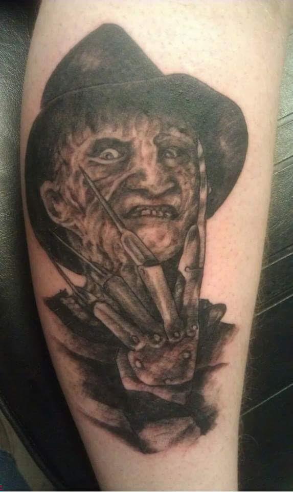 Robert Englund Tattoo Archive 405