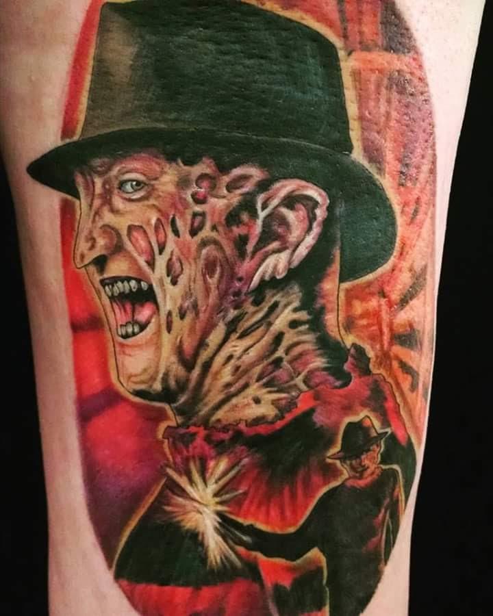 Robert Englund Tattoo Archive 408