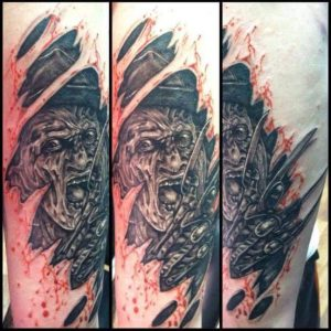 Robert Englund Tattoo Archive 409