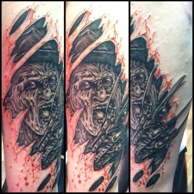Robert Englund Tattoo Archive 409