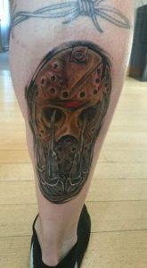 Robert Englund Tattoo Archive 411