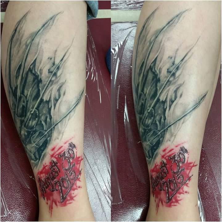 Robert Englund Tattoo Archive 413