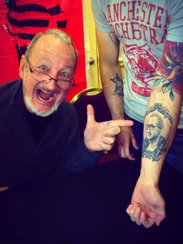 Robert Englund Tattoo Archive 417