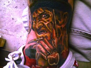 Robert Englund Tattoo Archive 423