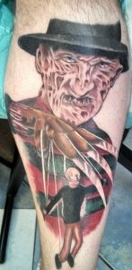 Robert Englund Tattoo Archive 425