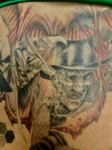 Robert Englund Tattoo Archive 429
