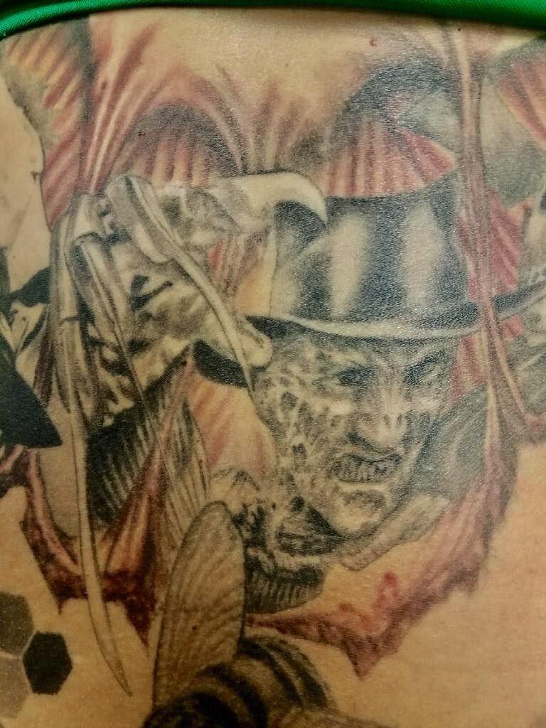 Robert Englund Tattoo Archive 429