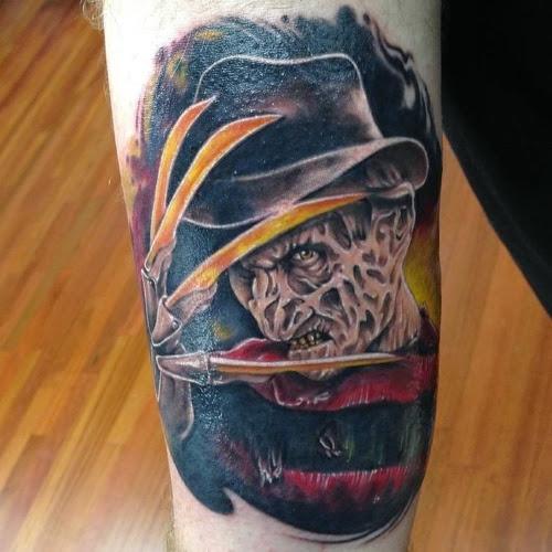 Robert Englund Tattoo Archive 431