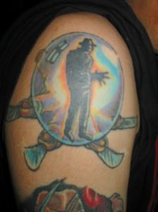 Robert Englund Tattoo Archive 434