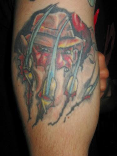 Robert Englund Tattoo Archive 435