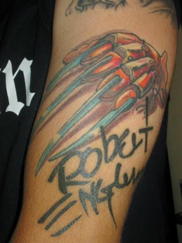 Robert Englund Tattoo Archive 436