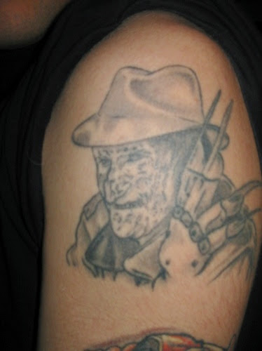 Robert Englund Tattoo Archive 438