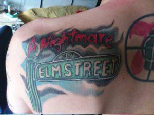 Robert Englund Tattoo Archive 439