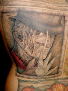 Robert Englund Tattoo Archive 441