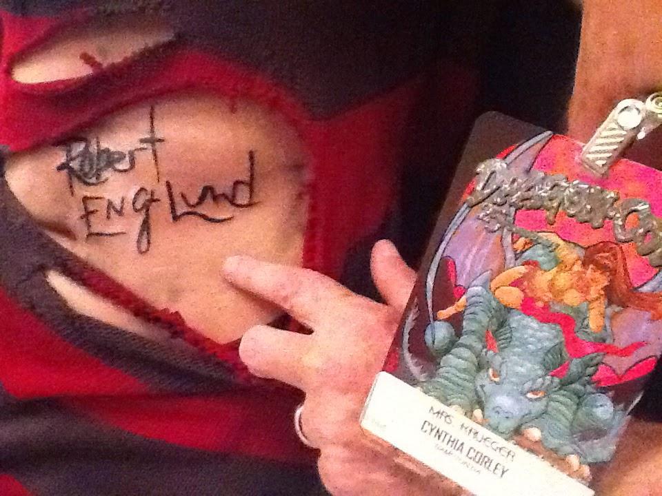 Robert Englund Tattoo Archive 445