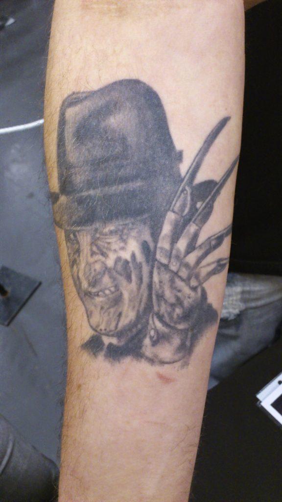 Robert Englund Tattoo Archive 446