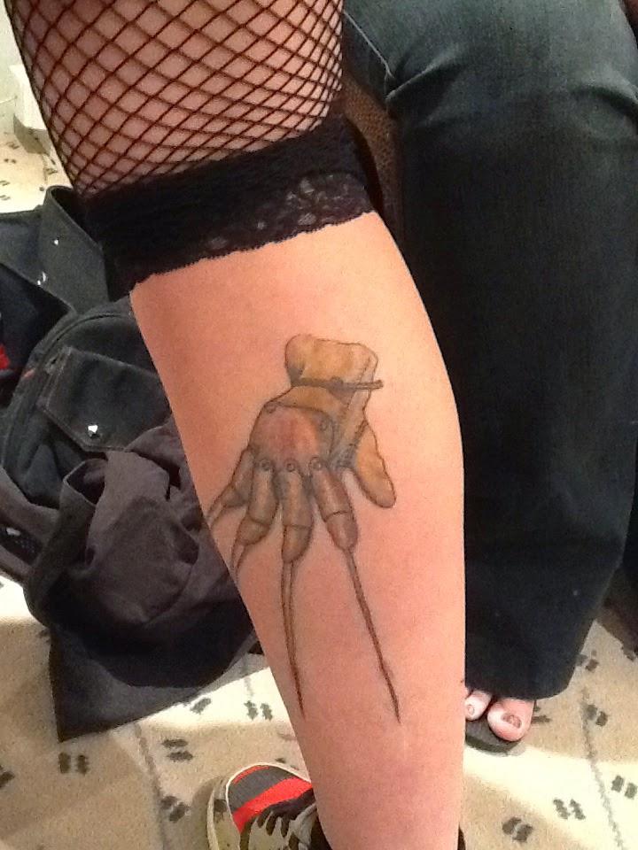 Robert Englund Tattoo Archive 449