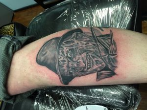 Robert Englund Tattoo Archive 452