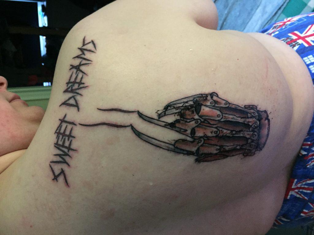 Robert Englund Tattoo Archive 454