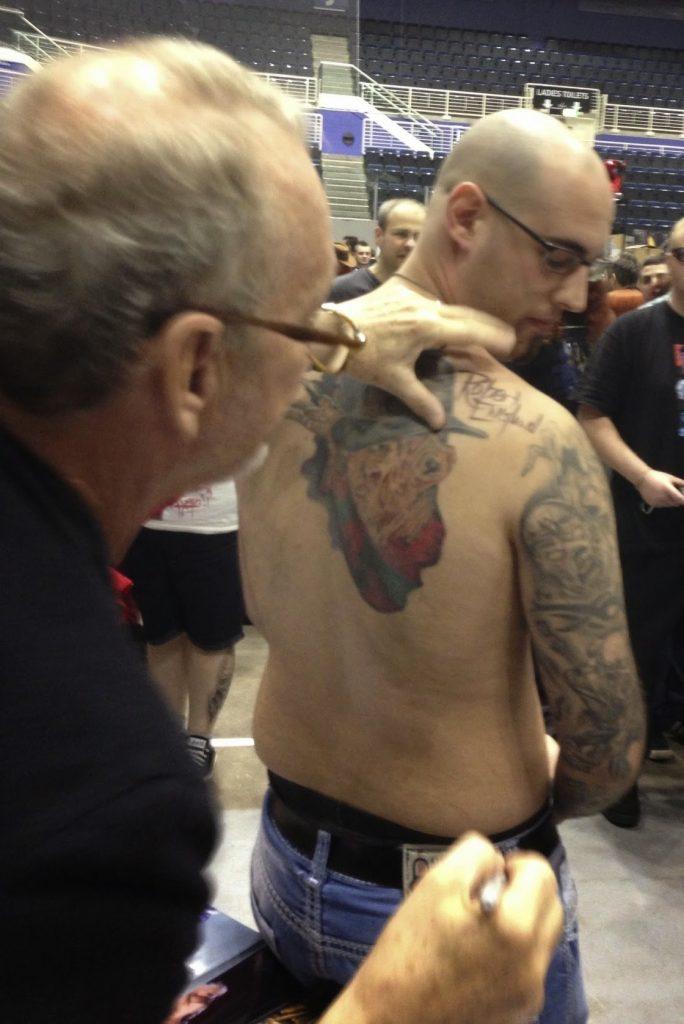 Robert Englund Tattoo Archive 459