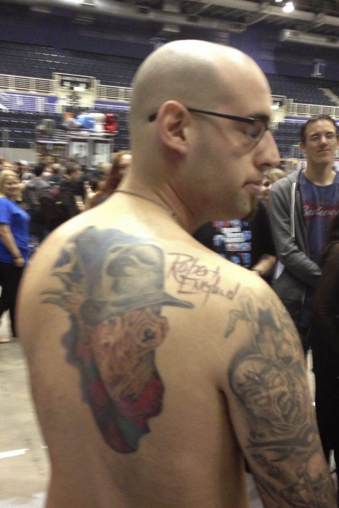 Robert Englund Tattoo Archive 460