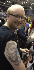 Robert Englund Tattoo Archive 465