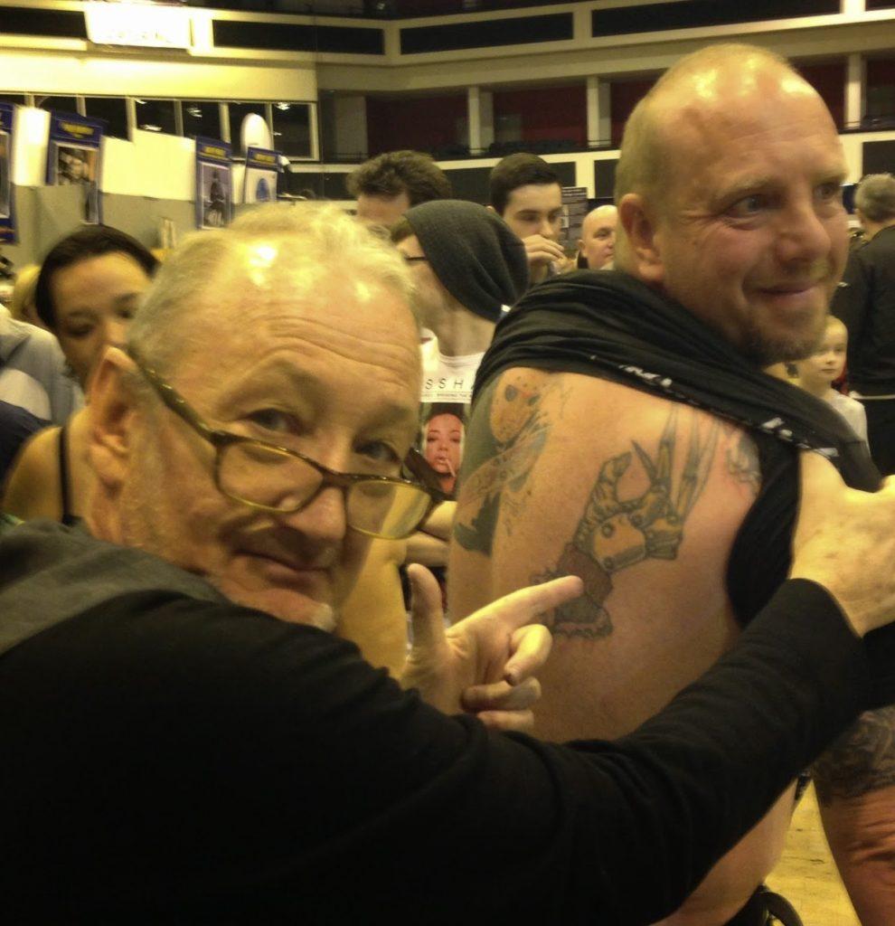 Robert Englund Tattoo Archive 471