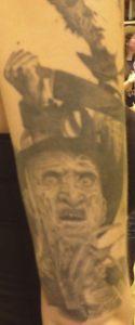 Robert Englund Tattoo Archive 472