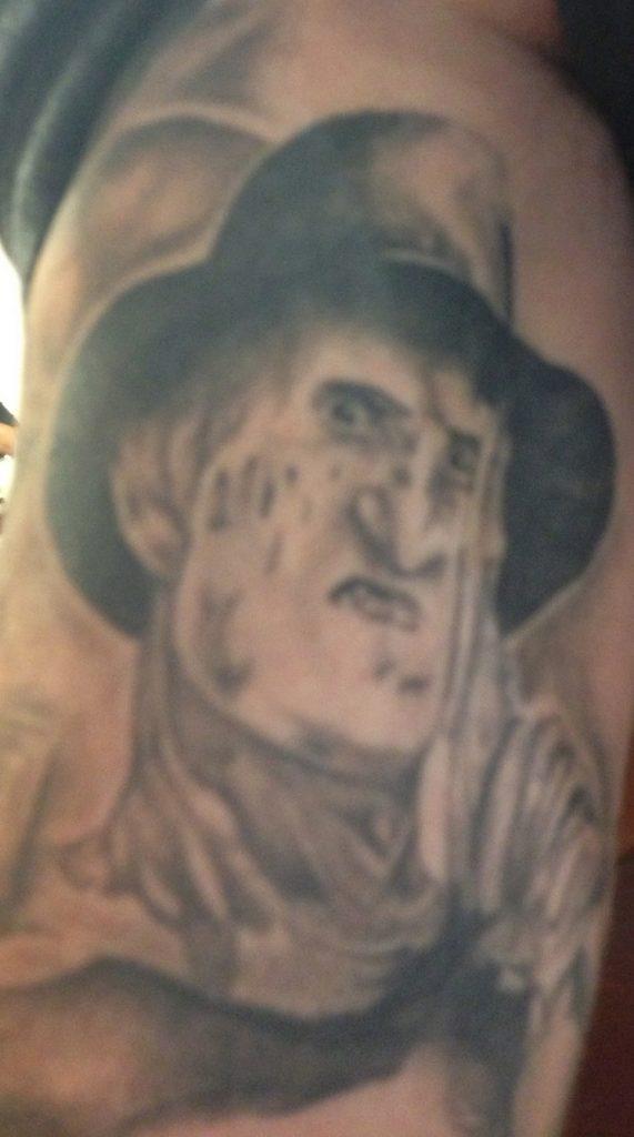 Robert Englund Tattoo Archive 477